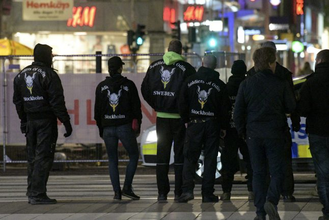 Swedish Soldiers of Odin group involved in 'extremist' clashes