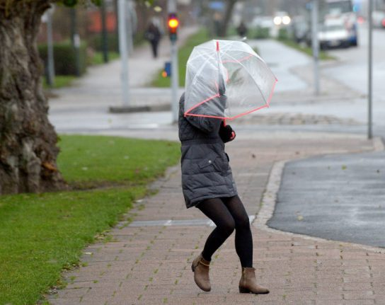 Sweden told to prepare for a storm as wild winds move in