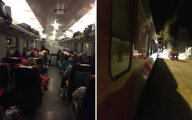 Swedes get stuck for hours on a freezing train in -40C, shrug it off