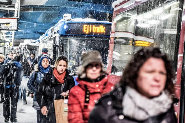 Sweden to kick off 2017 with snow and freezing temperatures