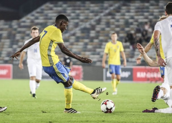 Prodigy dubbed 'next Zlatan' becomes Sweden's youngest scorer