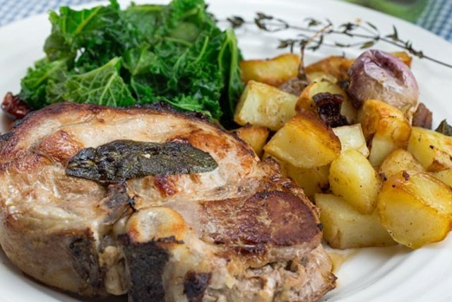 Impress your friends with this recipe for Swedish stuffed pork chops