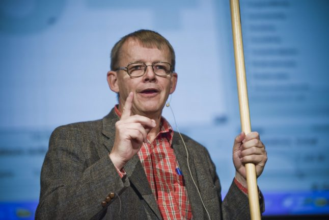 New foundation to be started in memory of Hans Rosling