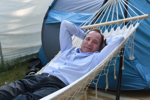 In pictures: 15 times Stefan Löfven looked incredibly Swedish
