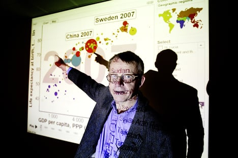 Remembering Hans Rosling: some personal reflections