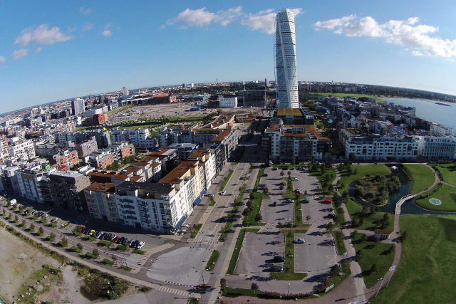 Far-right editor's offer to pay travel costs to 'crime-ridden Malmö' backfires as dozens accept