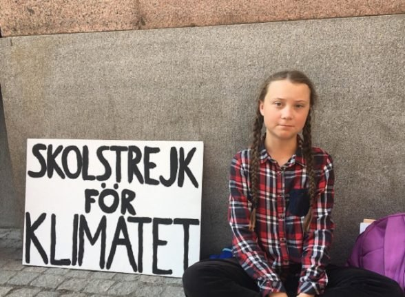 From the archive: The Local's first interview with Greta Thunberg