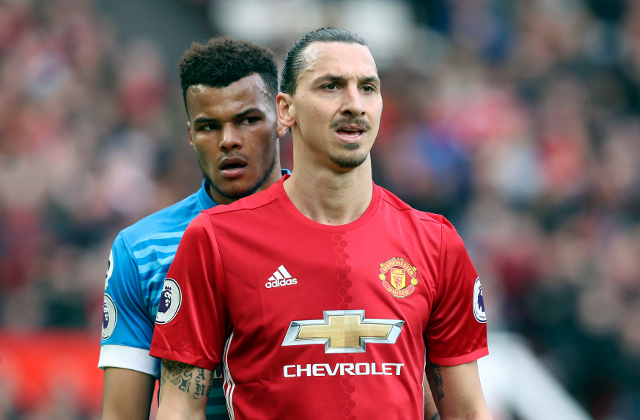 Ibrahimovic and Mings charged with 'violent conduct' after clash