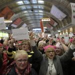 WATCH: Swedes mark International Women's Day with flash mobs