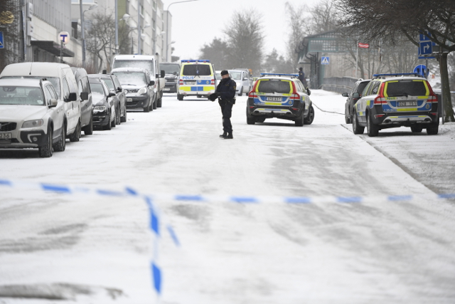 Police launch double murder probe after incident in Stockholm suburb