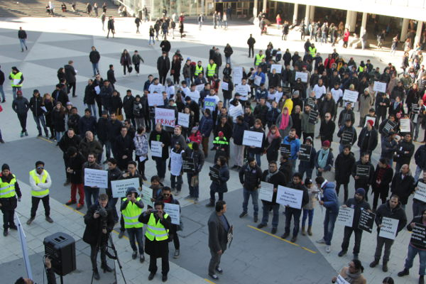 IN PICTURES: Foreign workers' rally in Stockholm