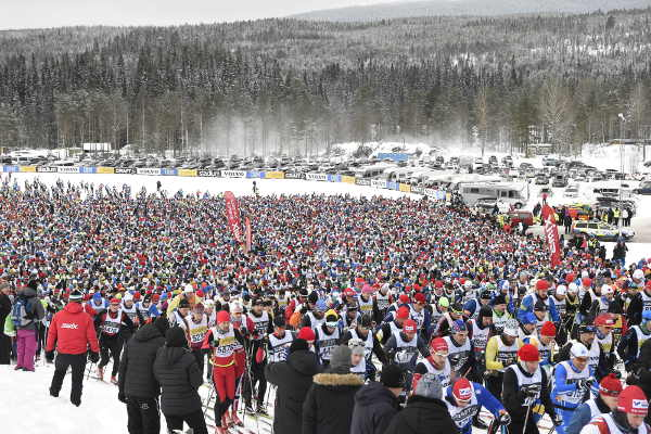 In pictures: Vasaloppet 2017, the world's oldest ski race