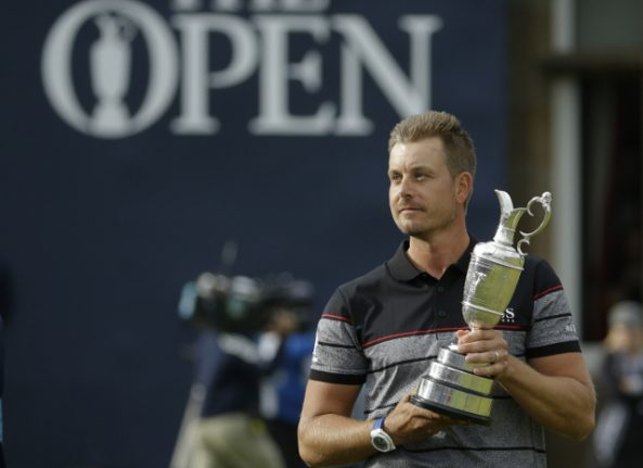 History-making Swedish golfer thinks British Open means more than Masters