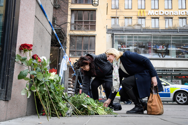 'I witnessed the Stockholm attack three years after terrorists killed my brother – we mustn't give in to fear'