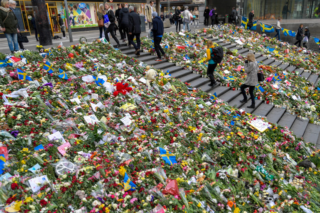 One Briton, one Belgian, two Swedes killed in Stockholm attack