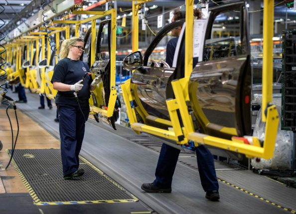 IN PICTURES: First new Volvo rolls off the line in Sweden