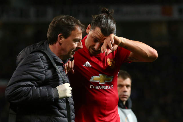 Zlatan: 'Giving up is not an option'