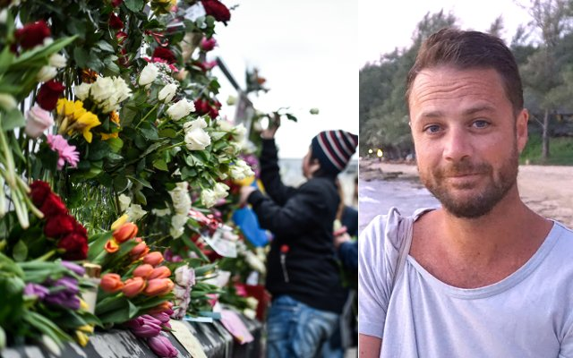 'The only light in this tragic moment is the outpouring of love. That's the kind of person Chris was'