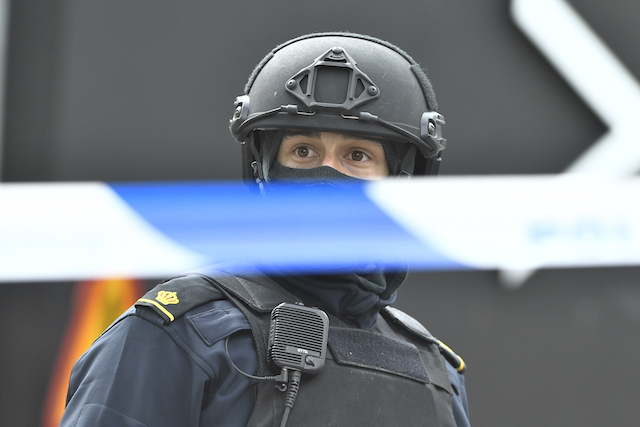 Police were poorly equipped for Stockholm attack, officers say
