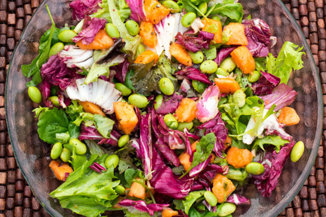 How to make a Swedish spring salad with an exotic twist