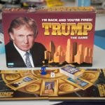 The Donald Trump board game, released in 1989, vastly undersold the expected two million copies. It was revived 15 years later in an attempt to capitalize on Trump's The Apprentice fame. Can we expect a White House edition any time soon?Photo: Björn Lindgren/TT
