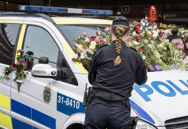 Confidence in Sweden's police increases following Stockholm terror attack