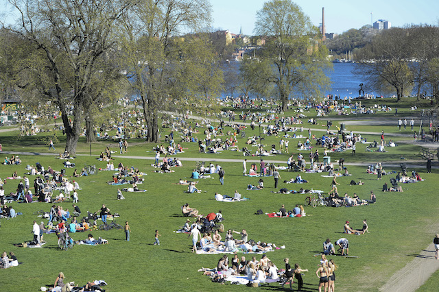 Heat record broken in Sweden, but the cold is returning