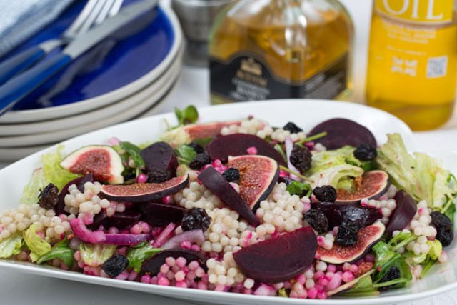 Recipe: How to make a Sweden-inspired colourful couscous salad