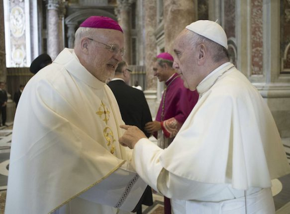 First ever Swede named as cardinal by Pope Francis