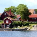 What's with all the red? The explanation for Sweden's colourful cottages