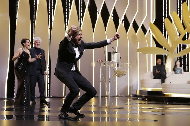 Swedish movie 'The Square' stuns Cannes with shock Palme d'Or win