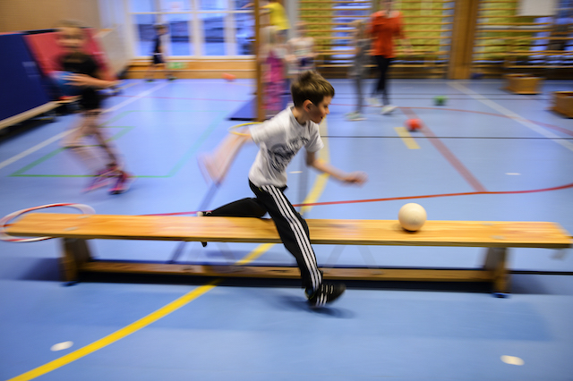 Swedish kids to get more exercise in school