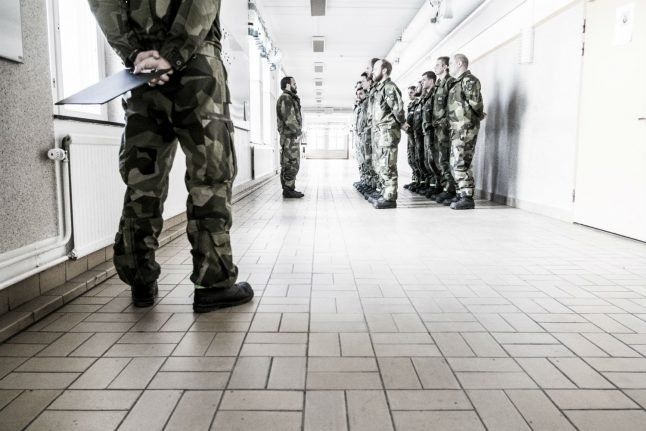 Swedish soldier fired for hateful social media posts