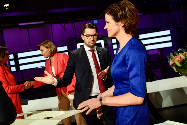 Day of reckoning? Swedish parties anxiously await key poll results