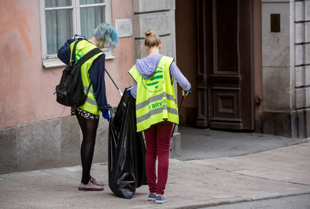 Do Swedish teens work or laze about in summer?