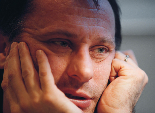 Swedish actor Michael Nyqvist's life in pictures