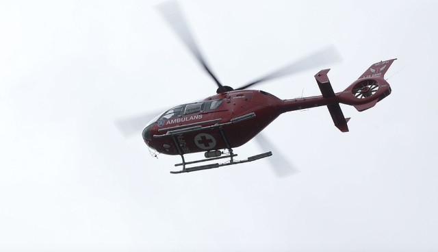 Woman in Sweden calls out mountain rescue helicopter because she was tired