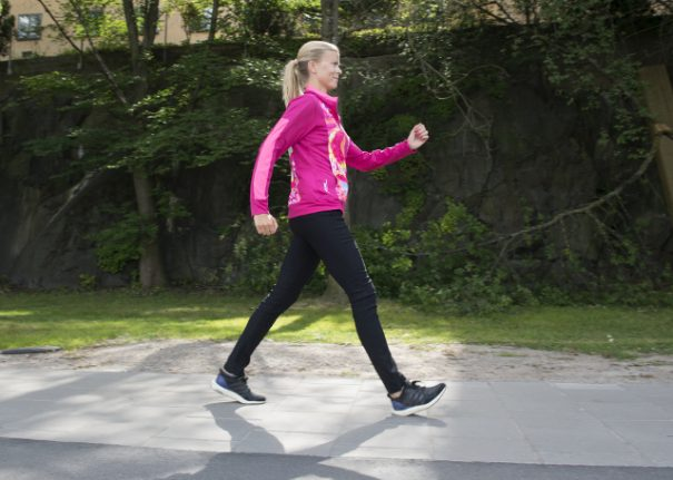 Active Swedes walk more than Brits and Americans, study shows