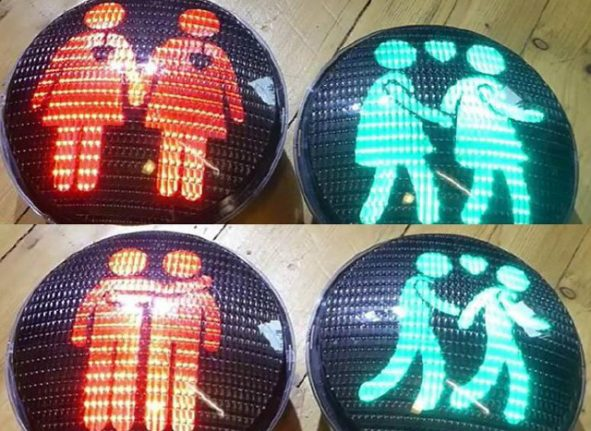 Stockholm to get new same-sex traffic lights in show of LGBT support