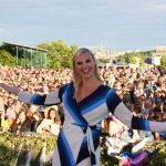 Host Sanna Nielsen. International readers may know her from Eurovision Song Contest 2014, where she represented Sweden with 'Undo'.Photo: Micke Bayart/Azul
