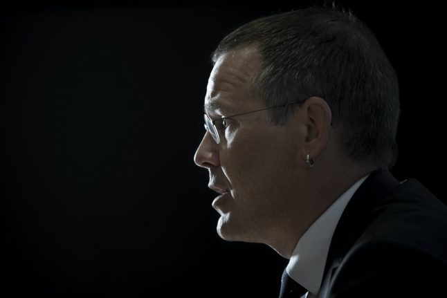 Former Sweden minister departs job over party controversy