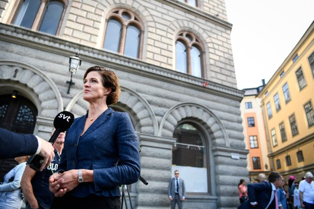 Fresh calls for Swedish opposition Moderate leader to be replaced