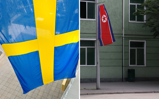 What exactly is Sweden doing in North Korea?