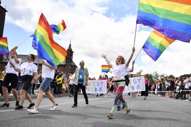 Stockholm's Pride parade briefly halted by right-wing extremists