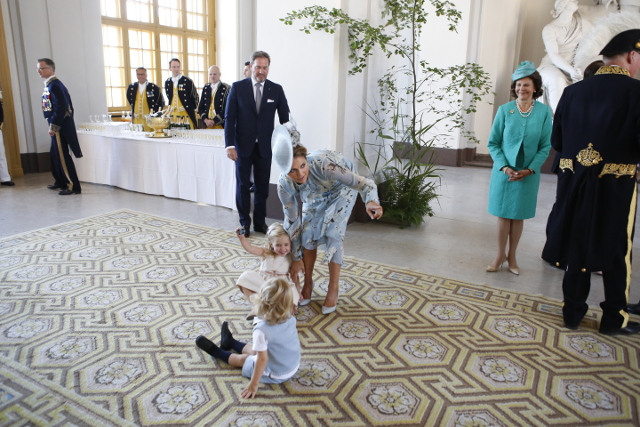 Third baby on the way for Sweden's Princess Madeleine