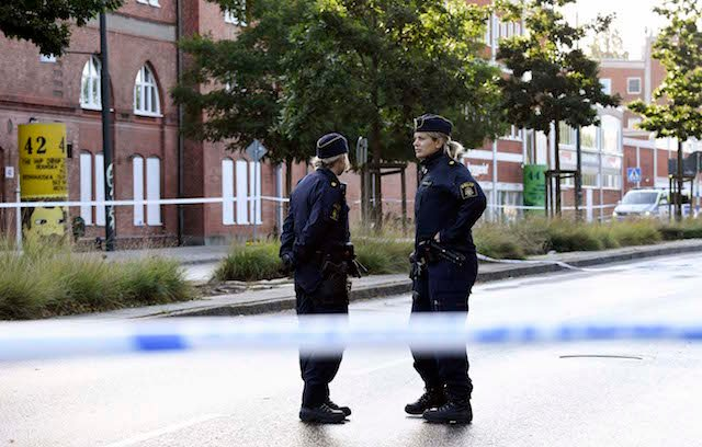 Two men suffer life-threatening injuries in Malmö shooting