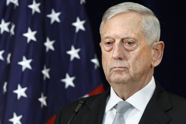 US Defence Secretary Mattis warned Sweden not to sign anti-nuclear weapons treaty: report