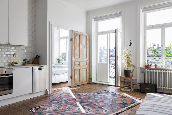 IN PICTURES: Swedish star Lykke Li is selling her bohemian chic Stockholm apartment