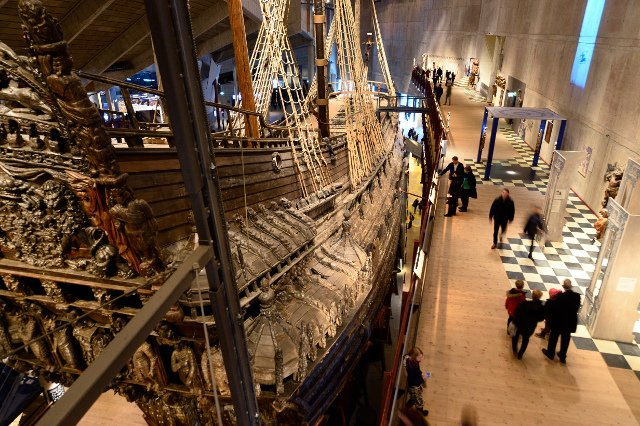 Stockholm's Vasa Museum smashes visitor record