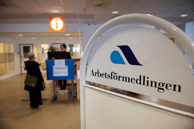 Record low unemployment... at least among native Swedes